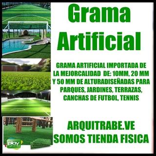 Grama Artificial Decorativa Y Deportiva Importada Barataaaaa