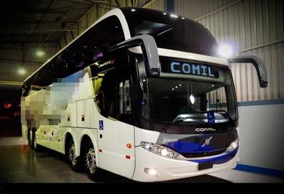 Comil Campione Ld Ano 2015 Volvo B450 8x2 Jm Cod 461