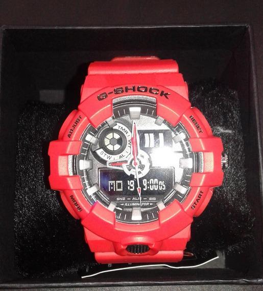 Relógio G-shock Ga 800 Vermelho Importado