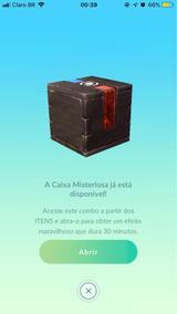 Caixa Misteriosa Pokemon Go Meltan Melmetal
