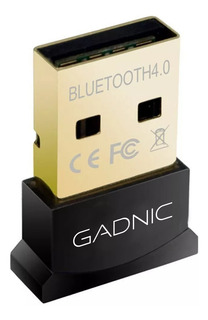 Adaptador Emisor Bluetooth 4.0 Usb Dongle Gadnic 3 Mbps