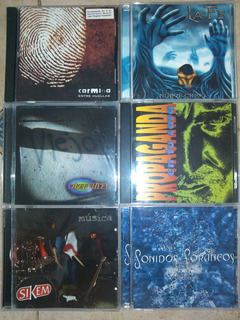 5cds Originales Nuevos Perfectos Rock Nacional Bs 690000 X 5
