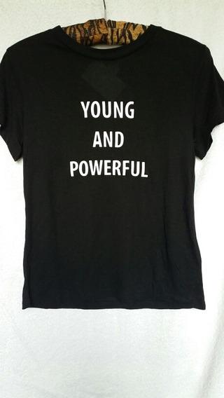 Remera Camiseta Top Mujer H&m Verano T Xs