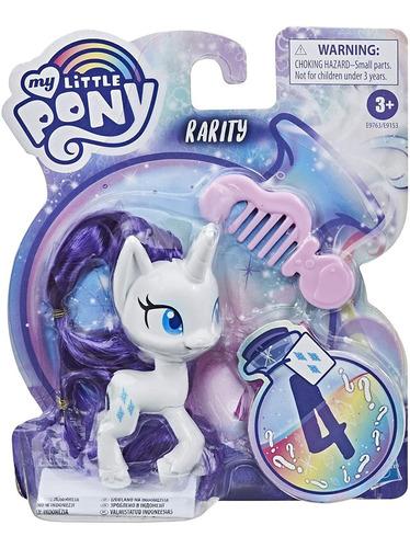 Imagem 1 de 3 de Boneca My Little Pony Rarity - Mini Figura Hasbro Original