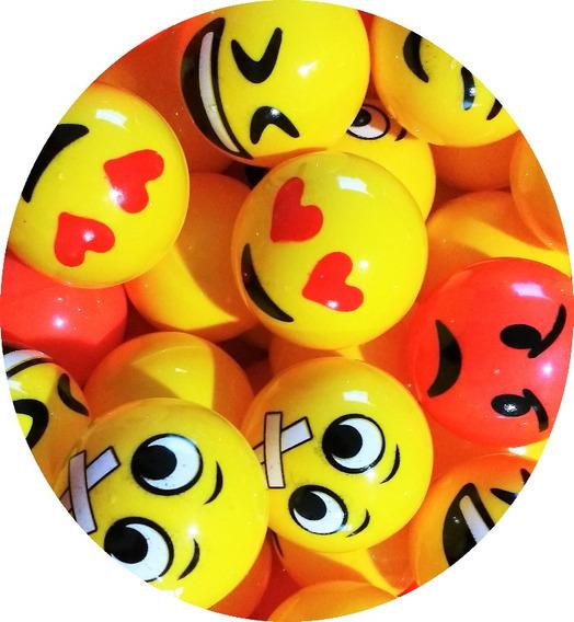 Emojis 100 Pelotas 2 Pulgadas Maquina Chiclera Para $10
