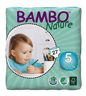 Pañales Piel Sensible Bambo S:5 - Unidad a $2404