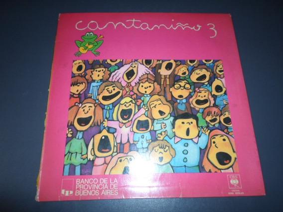 Cantaniño 3 * Disco De Vinilo
