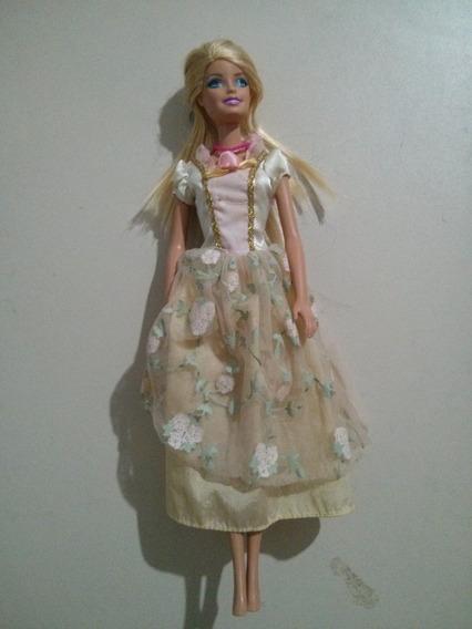 Boneca Barbie Vestido De Festa Em Perfeito Estado Raro