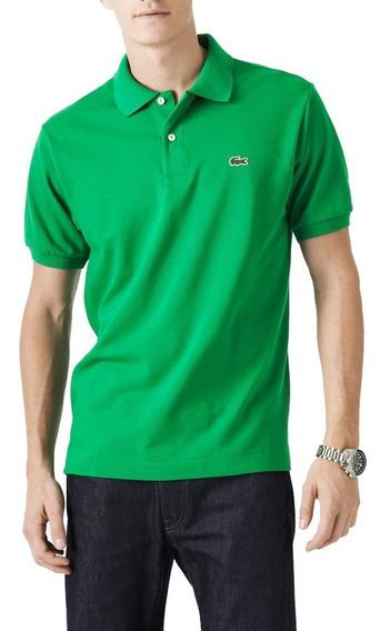 Camisa Polo Lisa + Boné Lacoste - 100% Original