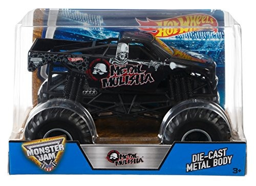 Vehículo Hot Wheels Monster Jam Metal Mulisha