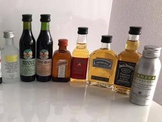 Oferta! Miniatura 50ml Vodka, Ron, Licor, Whisky