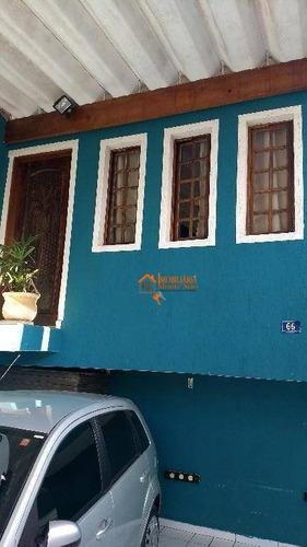 Imagem 1 de 21 de Sobrado Com 3 Dormitórios À Venda Por R$ 445.000,00 - Jardim Monte Carmelo - Guarulhos/sp - So0802