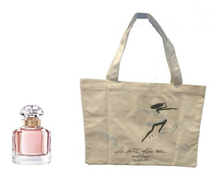 Perfume Importado Mujer Mon Guerlain Edp 100ml + Bolso
