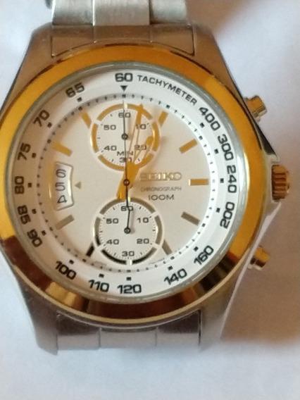 Relógio Seiko Cronógrafo 100m Original