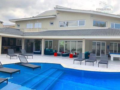Casa Com 8 Dormitórios À Venda, 780 M² Por R$ 5.500.000 - Acapulco - Guarujá/sp - Ca0534