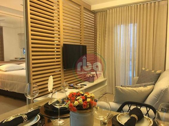 Flat Com 1 Dormitório Para Alugar, 37 M² Por R$ 2.600/mês - Parque Campolim - Sorocaba/sp - Fl0002