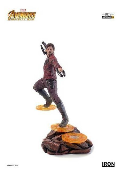 Starlord Bds Art Scale 1/10 - Avengers: Infinity War - Iron