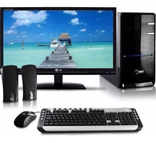 Nova Core I5 8gb Ram 500hd+ 02 Monitores Lcd 19 + Brindes