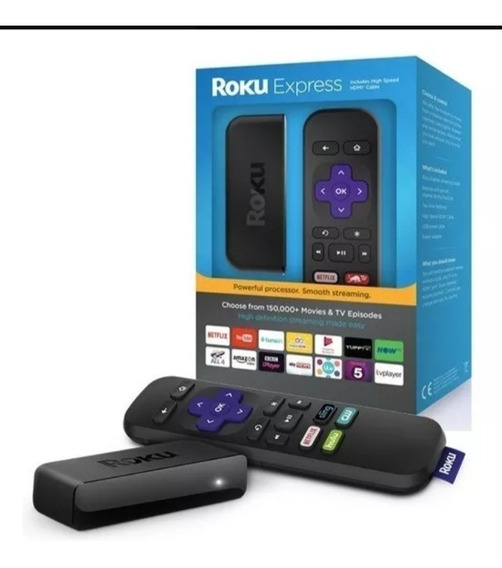 Roku Express Convertidor De Tv Clásico A Smartv Simple