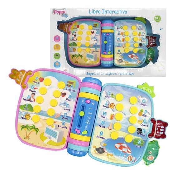 Libro Didactico Primera Infancia Luz Y Sonidos Poppi 6742