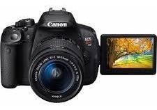 Câmera Canon T5i. Usada