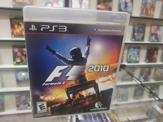 F1 2010 Usada Original Manual Ps3 Mídia Física.