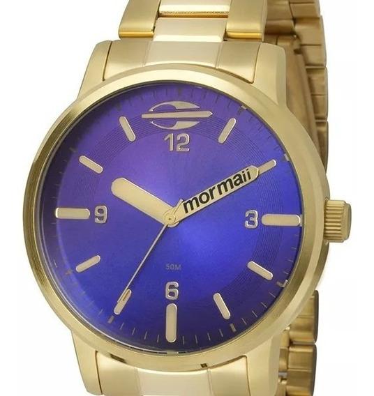 Relógio Mormaii Feminino Mauii Dourado