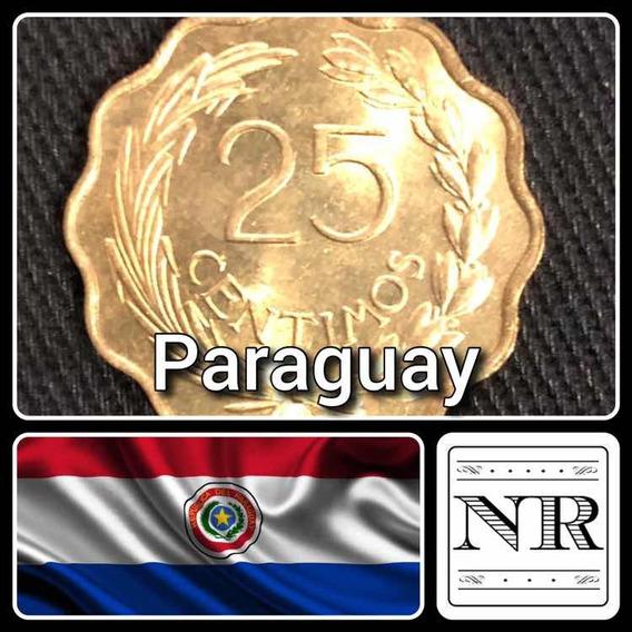 Paraguay - 25 Centimos - Año 1953 - Km # 27 - Alveolada