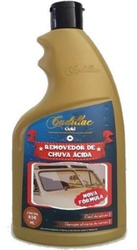 Restaurador De Vidros Removedor Chuva Acida 650ml - Cadillac
