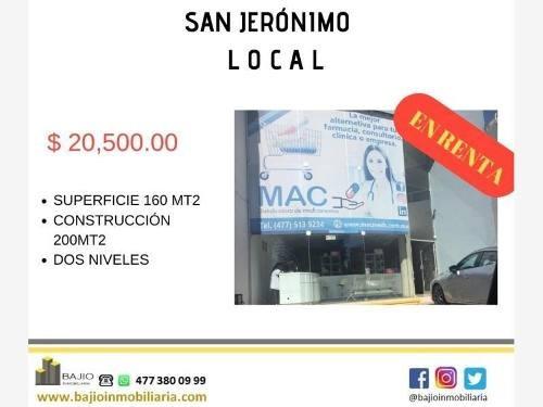 Local Comercial En Renta San Jeronimo Ii