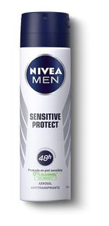 Nivea Men Desodorante Antitranspirante Sensitive Protect