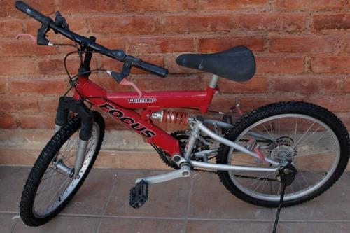 Bicicleta Rally Rodado 20 Doble Suspensión