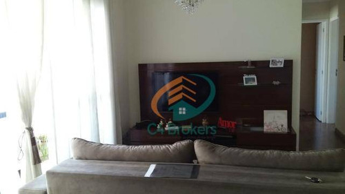 Imagem 1 de 19 de Apartamento À Venda, 86 M² Por R$ 630.000,00 - Vila Augusta - Guarulhos/sp - Ap1885