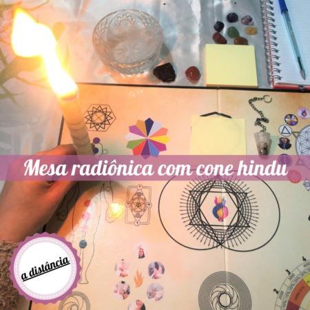 Imagem 1 de 7 de Mesa Radiônica + Cone Hindu A Distância + Brinde (1 Sessão)