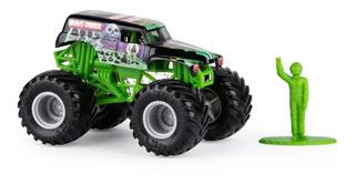Monster Jam Grave Digger Monster Truck Escala 1:64 Sunny