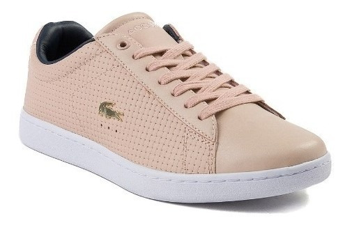 Tenis Lacoste Mod. 444115 Carnaby Weave Orquidia Mujer / J