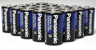 24pack Wholesale Lot Panasonic Super Heavy Duty D Baterí