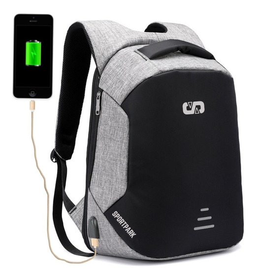 Mochila Oficina Gimnasio Universidad Notebook Tablet
