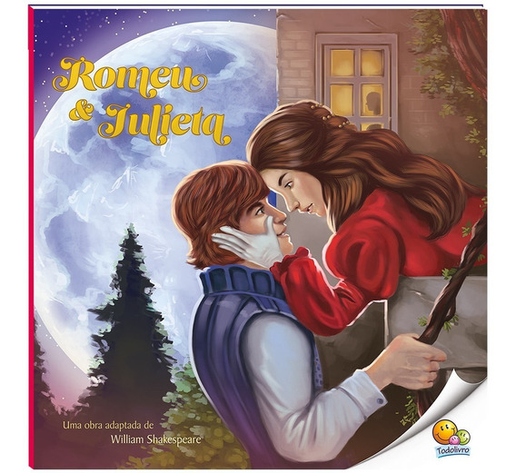 Livro Paradidático Nível 4 - Romeu E Julieta