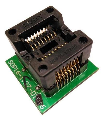 Sop16 Ots-16-1.27-03 150mil  Programmer Adapter Socket
