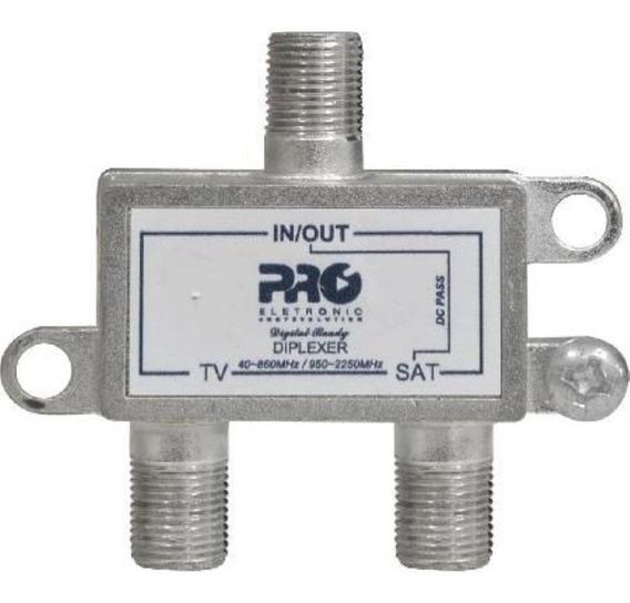 2 Chave Diplexer Nanosat / Telesystem 2x1 (tv-sat)