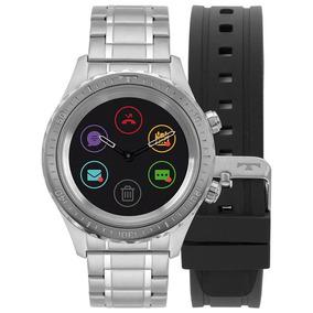 Relógio Technos Masculino Smartwatch Prata / P01aa/1p