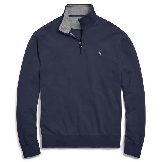 Suéter Polo Ralph Lauren Azul-marinho Eua 12x Sem Juros