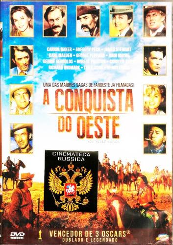 Dvd A Conquista Do Oeste John Ford, John Wayne.... 1962 + | Mercado Livre