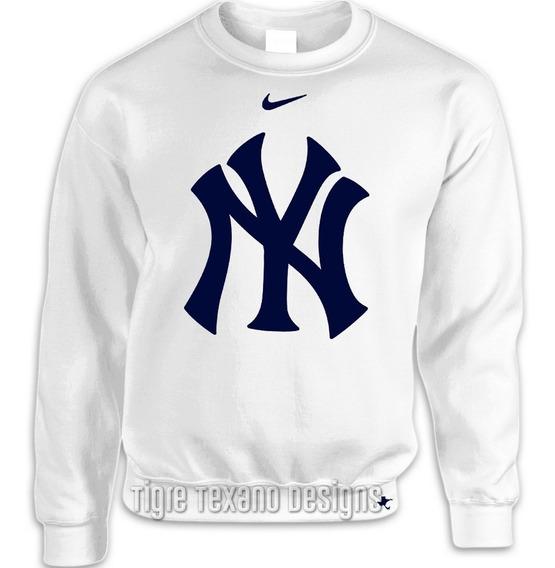 Sudadera Básica Mlb Yankees Ny Mod P By Tigre Texano Designs