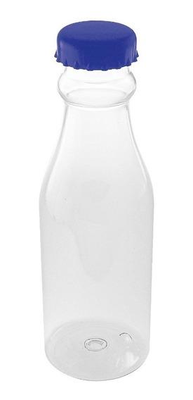 Botella Plástico Soda 700ml Tapa Azul Agua Cocina Nuevo