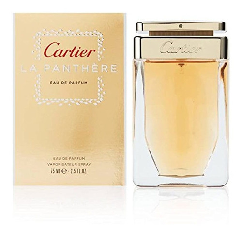 Perfumes Cartier La Panthere Para Mujer (75 Ml)