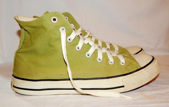 Tenis Vintage All Star Converse Verde Cano Longo Tam:40 Br