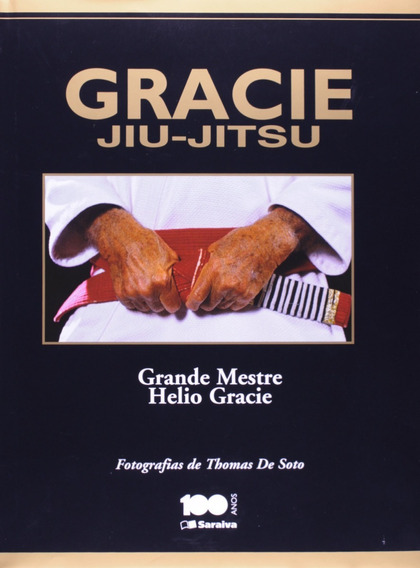 Livro Gracie Jiu Jitsu Helio Gracie Raro (leia O Anuncio)