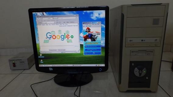 Cpu Athlon 64 3200 + Mem 1gb + Vídeo Gforce 6200 + Hd 80gb